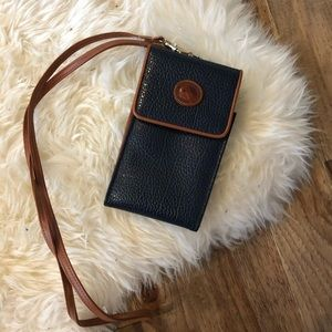 Dooney & Bourke Crossbody Wallet Pouch Phone Case